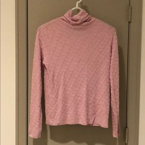 🍎Silk pink sweater